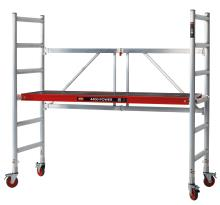 Altrex Folding Scaffolding 44 Power - Flexible scaffolding - working height up to 3 metres and the height can be adjusted as needed.