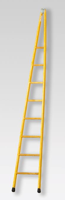 Pointed ladder, 9 rungs