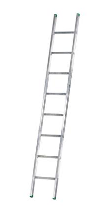 Single ladder, Standard, 8 rungs - The standard ladder is for the discerning DIYer and semi-professional - rung spacing: 300 mm. Width 403 mm