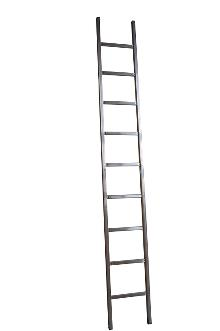 Single ladder, Standard, 9 rungs - The standard ladder is for the discerning DIYer and semi-professional - rung spacing: 300 mm. Width 403 mm