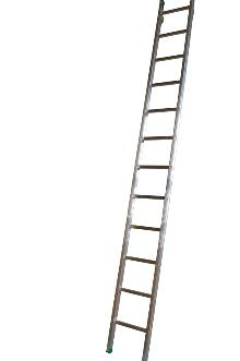 Single ladder, Standard, 12 rungs - The standard ladder is for the discerning DIYer and semi-professional - rung spacing: 300 mm. Width 403 mm
