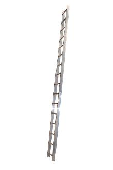 Roof ladder 1 m - The roof ladder can be used loose or it can be attached where required by law. The tall profile of the stiles provides plenty of space between the rungs and the roof. Outer width: 37 cm - Rung width: 30 cm - Stile height: 75 mm