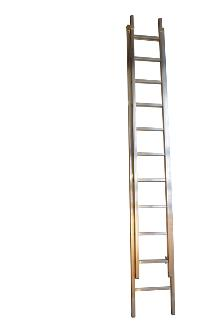 2-section extension ladder 11+10 rungs, Work - The Work ladder is a combination of single, extension and combination ladder that is made of indestructible, corrosion-proof aluminium and specifically designed for professional users.