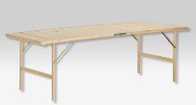2-section folding table