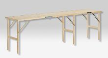 3-section folding table